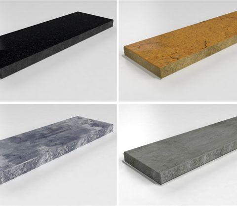 Pracovní deska z ušlechtilého betonu