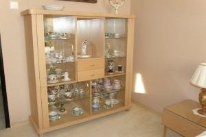 skleník pro sbírku porcelánu